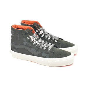 Vans Vault x Porter OG Sk8 Hi LX Forest Night/Orange