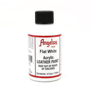 Angelus Paint 4 Ounce Flat White