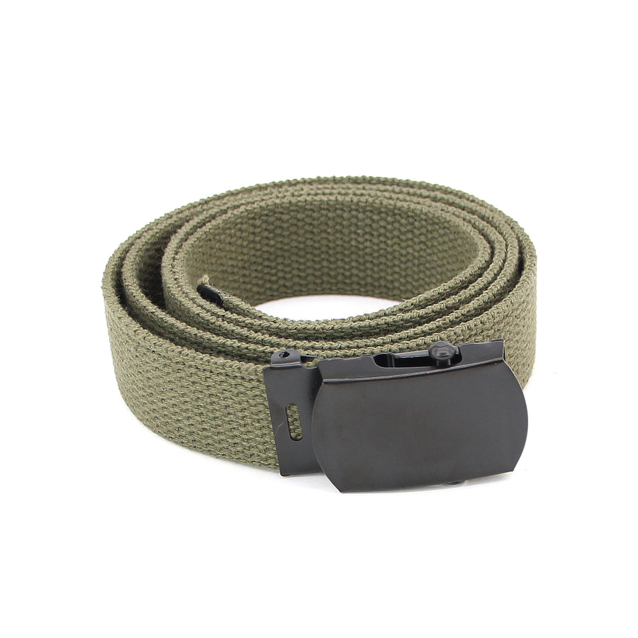 Rothco Web Belt Olive W/Black Buckle