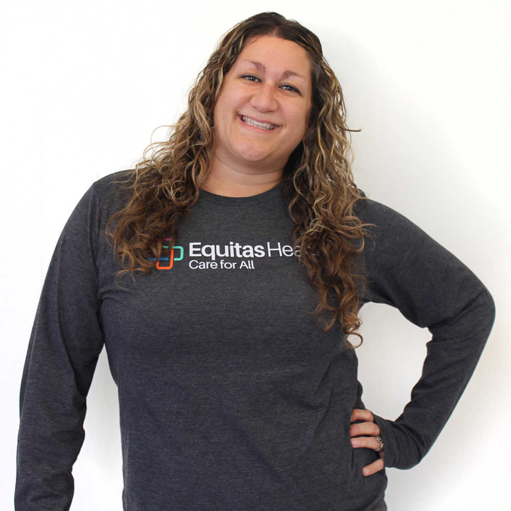 Equitas Health Long Sleeved T-Shirt