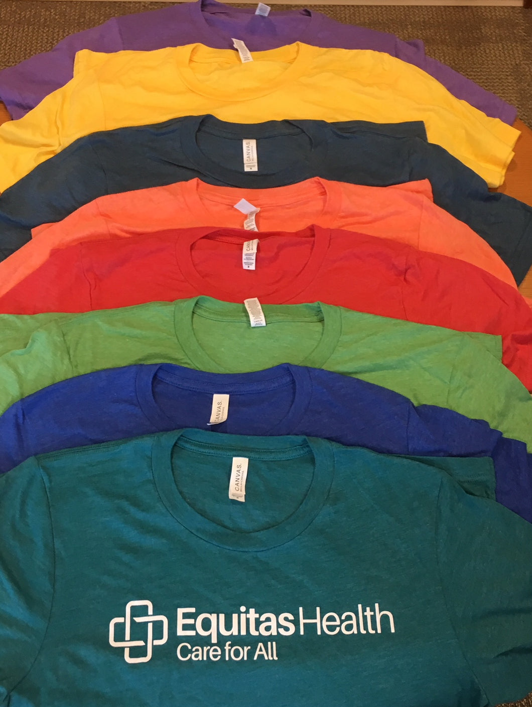 Equitas Health Multicolor T-Shirts
