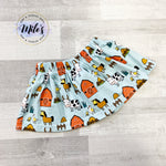 Farmyard Circle Skirt