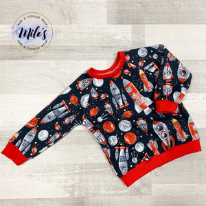 Space Rocket Sweater