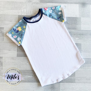 Tattoo White Short Sleeve Tee