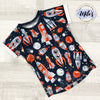 Space Rocket Short Sleeve Tee