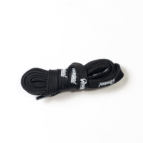 Shoe Laces- Cordones All Over Logo ( Negro )
