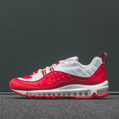 NIKE AIR MAX 98 UNIVERSITY RED/UNIVERSITY RED