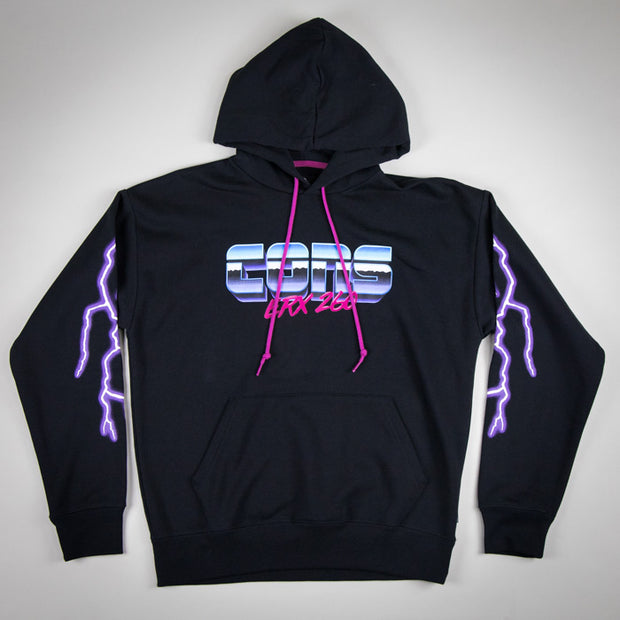 "Converse by Don C ""Metal CONS"" Hoodie Black"