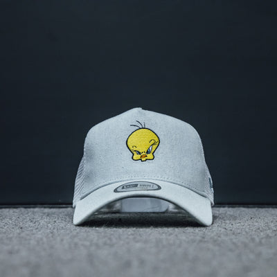 New Era grey 9Forty Tweety Bird Trucker Cap