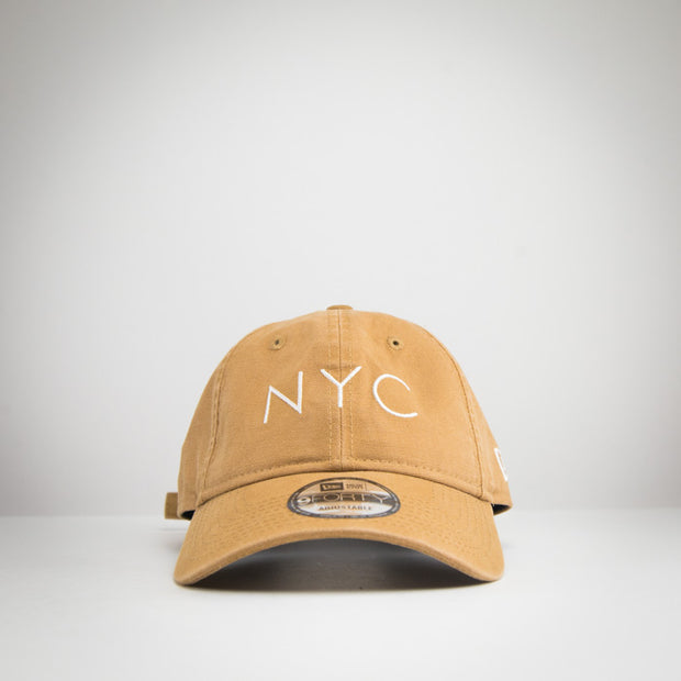 New Era 940UNST Washed Duck NYC TAN SS20
