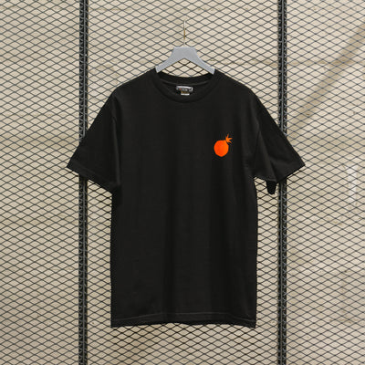 THE HUNDREDS POETRY T SHIRT BLACK
