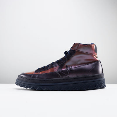 Metallic Vis Pro Leather X2 High Top