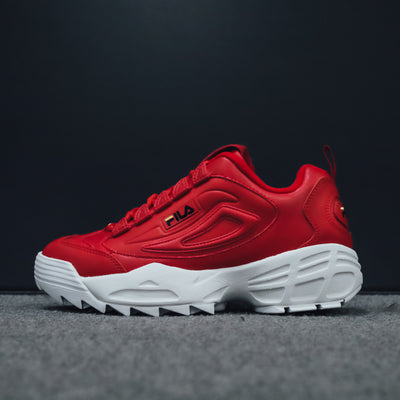 Disruptor 3 ZipFila Red / Black / Gold Fusion