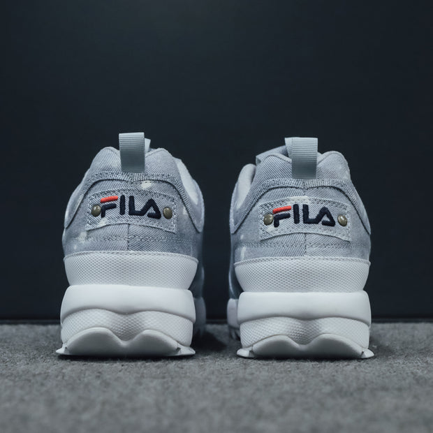 Disruptor Denim Logo Fila