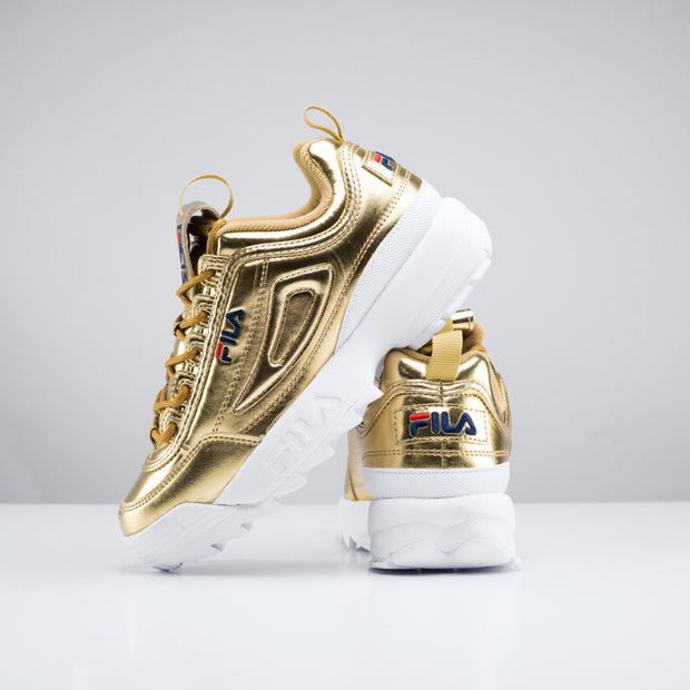 Womens Disruptor 2 Premium 'Metallic Gold'