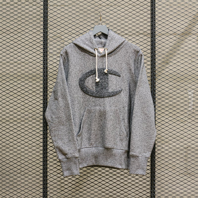 HOODED SWEATSHIRT BLACK HEATHER
