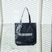 DAZED PLASTIC TOTE BAG BLACK