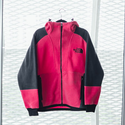 The North Face Hooded Long Sleeve Fleece Jacket