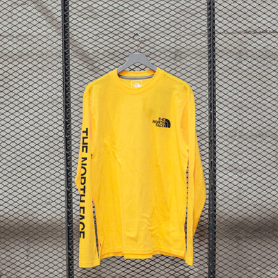 M L/S UX LOGO 7 SUMMITS TEE TNF YELLOW