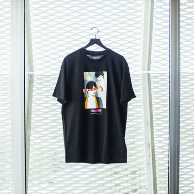 BLINDFOLD T-SHIRT BLACK