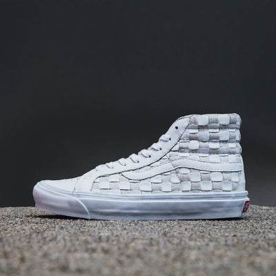 SK8-HI LX (WOVEN LEATHER) 50TH