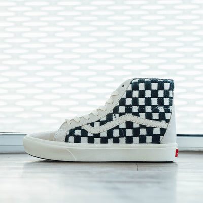 "Vans Comfycush Sk8 Hi ""Oatmeal Checkerboard"
