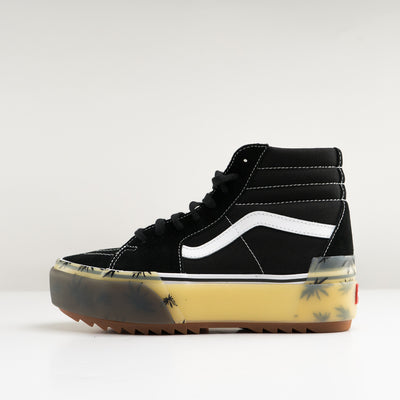 WOMENS UA SK8-HI STACKED LX (SUEDE/CANVAS)