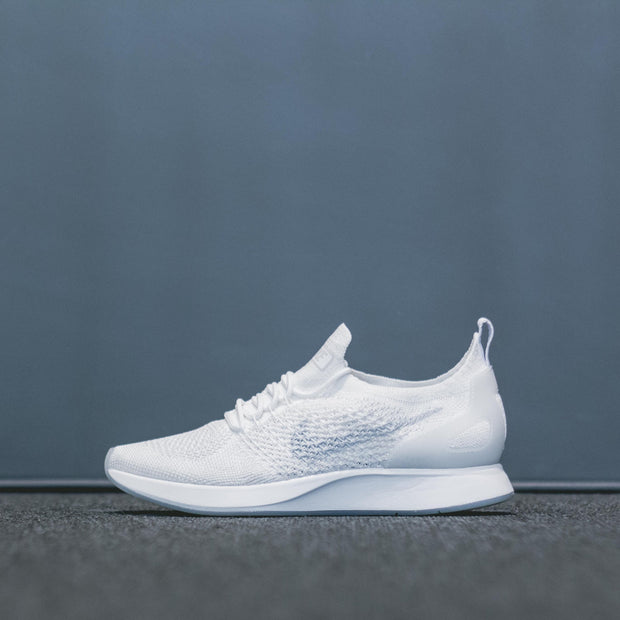 WMNS AIR ZOOM MARIAH FK RACER WHITE/PURE PLATINUM-SUMMIT WHITE - LACES STORE