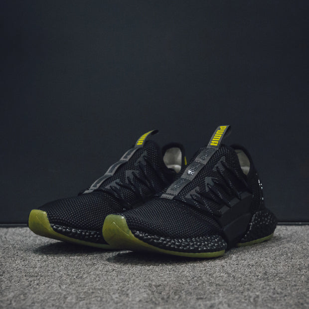 HYBRID ROCKET RUNNER ASPHALT-PUMA BLACK-BLAZING YELLOW