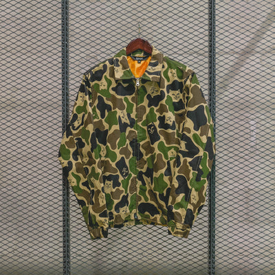 NERMAL CAMO COACH JACKET  ARMY CAMO