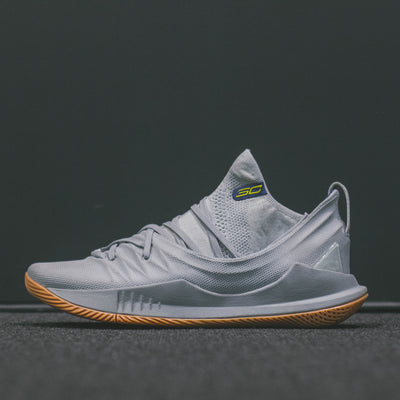 M UNDER ARMOUR CURRY 5 GRAY