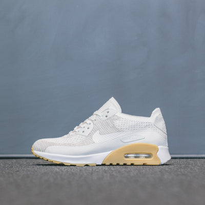 WMNS AIR MAX 90 ULTRA 2.0 FLYKNIT WHITE