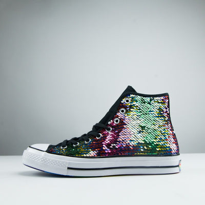 "Chuck 70 High ""Pride Sequined"""