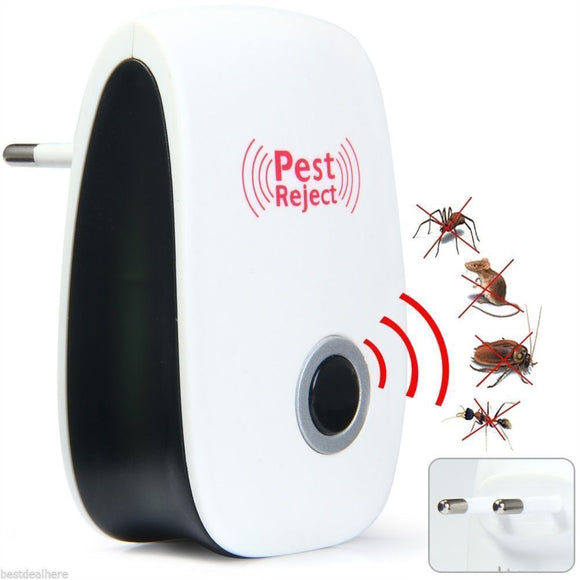 2018 New Multi-Purpose Electronic Ultrasonic Mosquito Killer Reject Bug Mosquito Cockroach Mouse Killer Repeller