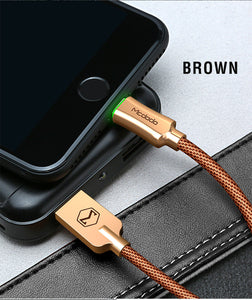 SMART IQ IPhone Cable Automatically Shuts Off When Finished Charging your Device to Protect your Battery