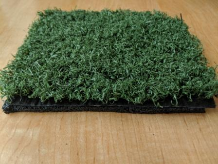 artificial turf with pad