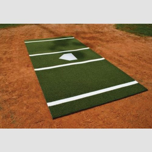 6' x 12' Green Baseball Batting Mat
