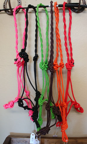 Rope Halter- Assorted colors.