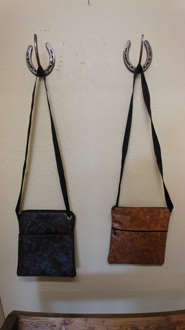 Leather Sachel & Clutch Purses