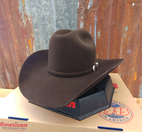 American Hat Co Chocolate 7x Cowboy Hat