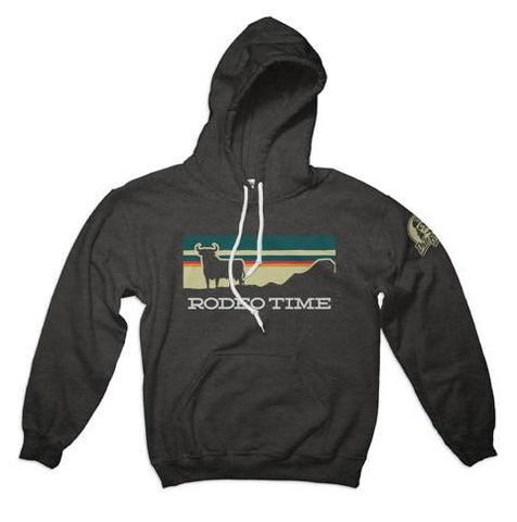 Sunset Rodeo Time Hoodie- Dale Brisby