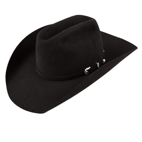 American Hat Co 40X Black Felt Hat