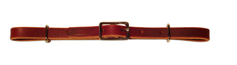 Straight Latigo Leather Curb Strap