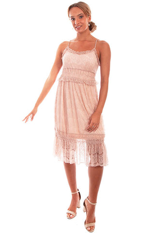 Scully Women's Tiered Lace Dress