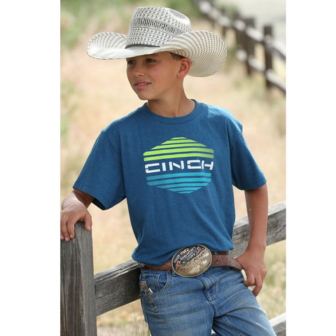 Blue and Lime Cinch Boy's T-Shirt