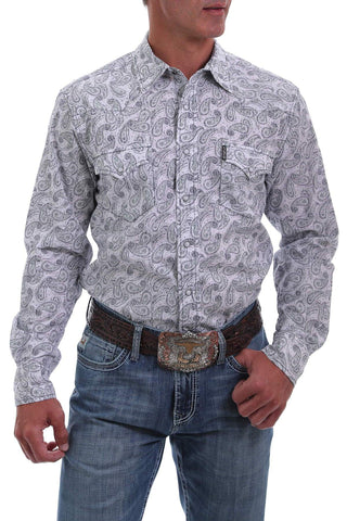 Paisley Cinch Men's Long Sleeve Modern Fit