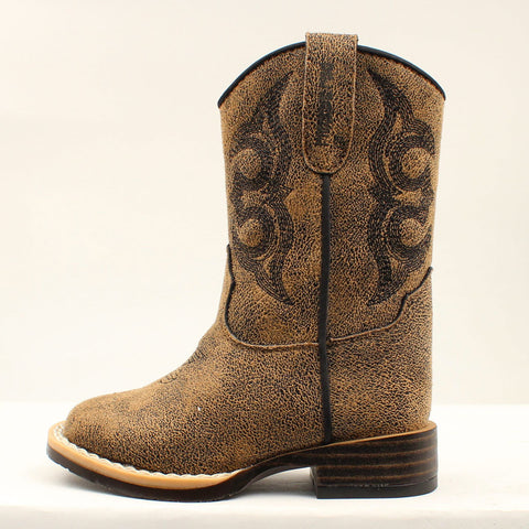 DOUBLE BARREL TODDLER COWBOY BOOTS