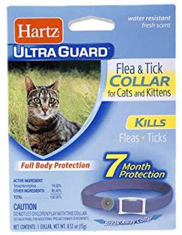 Hartz Ultra Guard Flea & Tick Cat Collar