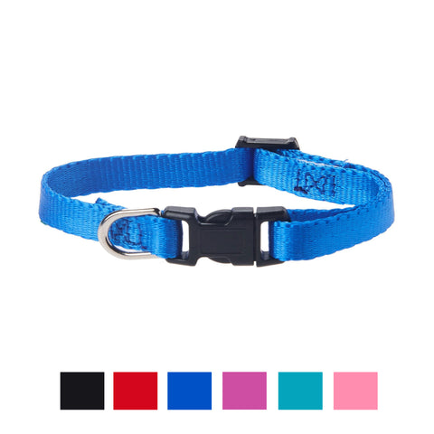 Vibrant Life Solid Nylon Dog Collars