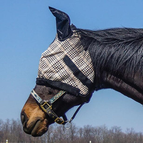 Country Pride Traditional Plaid Fly Mask